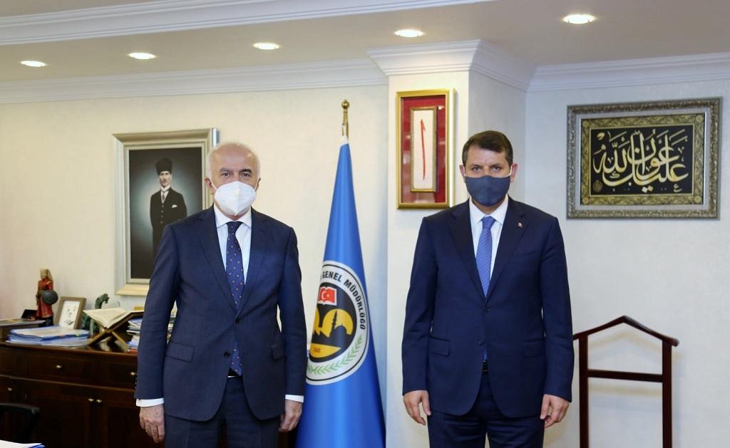 Vali Ayhan Ankara Ziyareti gerçekleştirdi