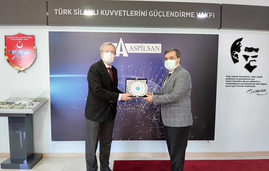 SBTÜ Rektörü Prof.Dr. Mehmet Kuldan Aspilsan Enerjiye Ziyaret