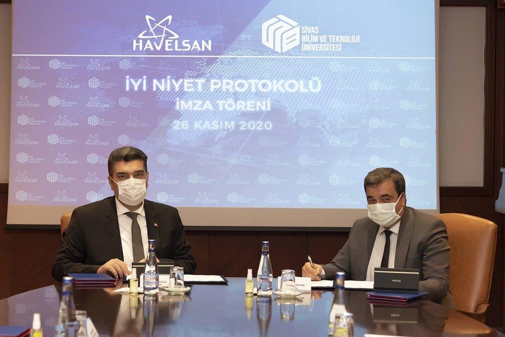SBTÜ ile Havelsan arasında işbirliği