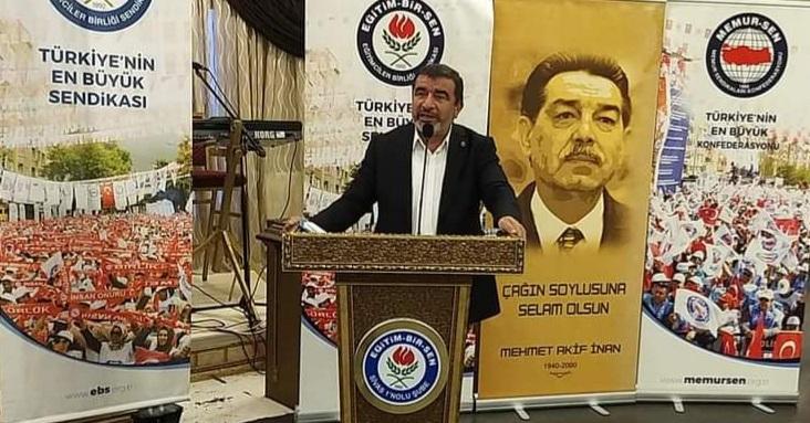103 emekli amiralin yayınladığı skandal bildiriye Sivas Memur-Sen İl Temsilcisi Halil İbrahim TEMİZ'den sert tepki