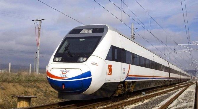 Yıllardır Beklenen Hızlı Tren Geldi