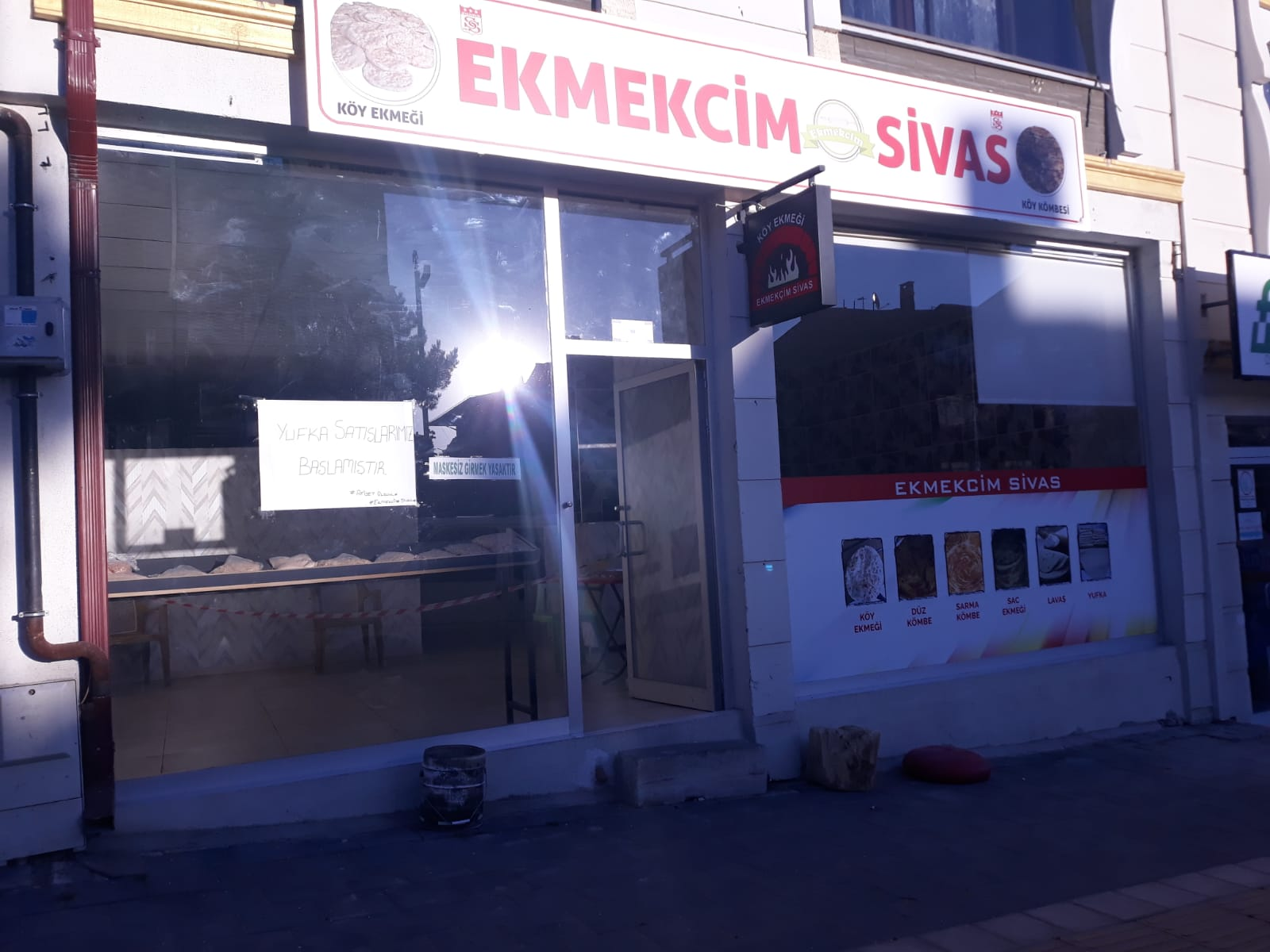 Ekmekcim Sivas Köy Ekmeği Kömbe Saç Katmeri