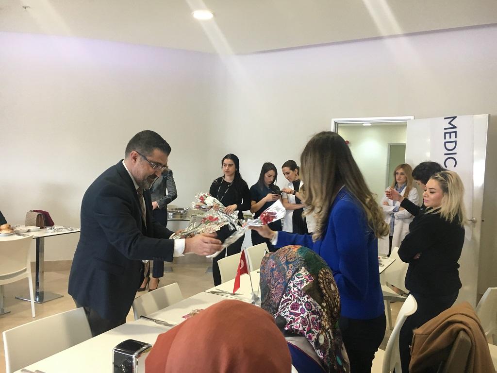 Medicana Sivas'dan Kadınlar Günü Etkinliği