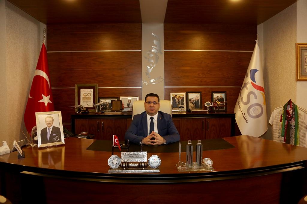 Sivas Ticaret ve Sanayi Odası (STSO) Yönetim Kurulu Başkanı Mustafa Eken, 24 Kasım Öğretmenler Günü dolayısıyla bir mesaj yayınladı