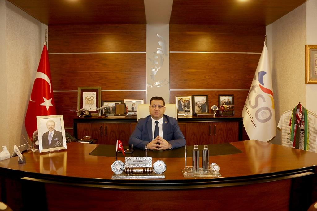 Sivas Ticaret ve Sanayi Odası (STSO) Yönetim Kurulu Başkanı Mustafa Eken, Regaip Kandili nedeniyle bir mesaj yayımladı
