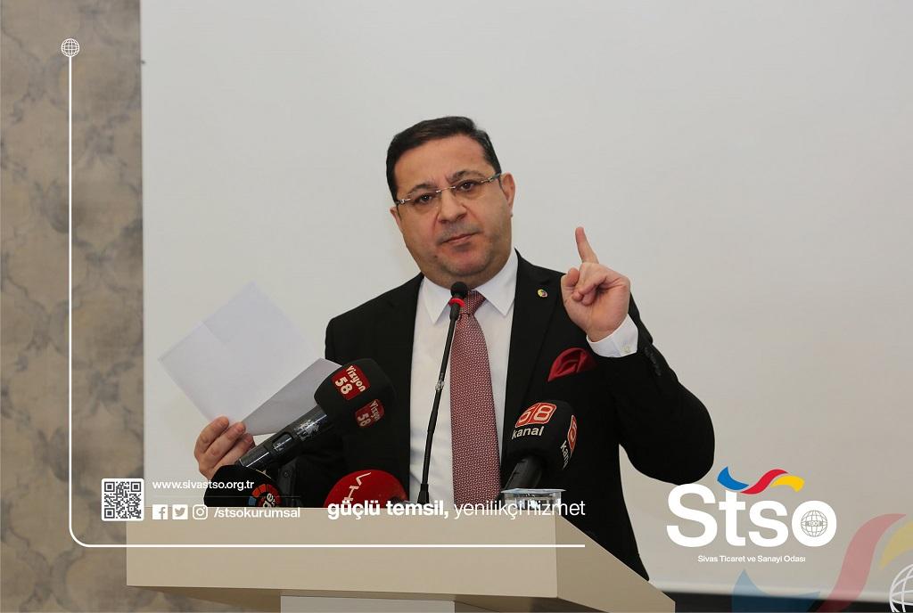 """Mustafa Eken""""2020 Yılı beklemediğimiz hadiselerin yaşandığı bir yıl oldu"""""""