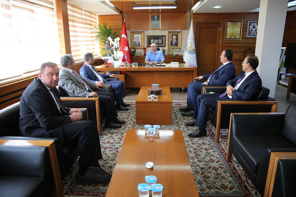 Enerji Bakanlığı genel müdür yardımcısı Aydın'ı ziyaret etti