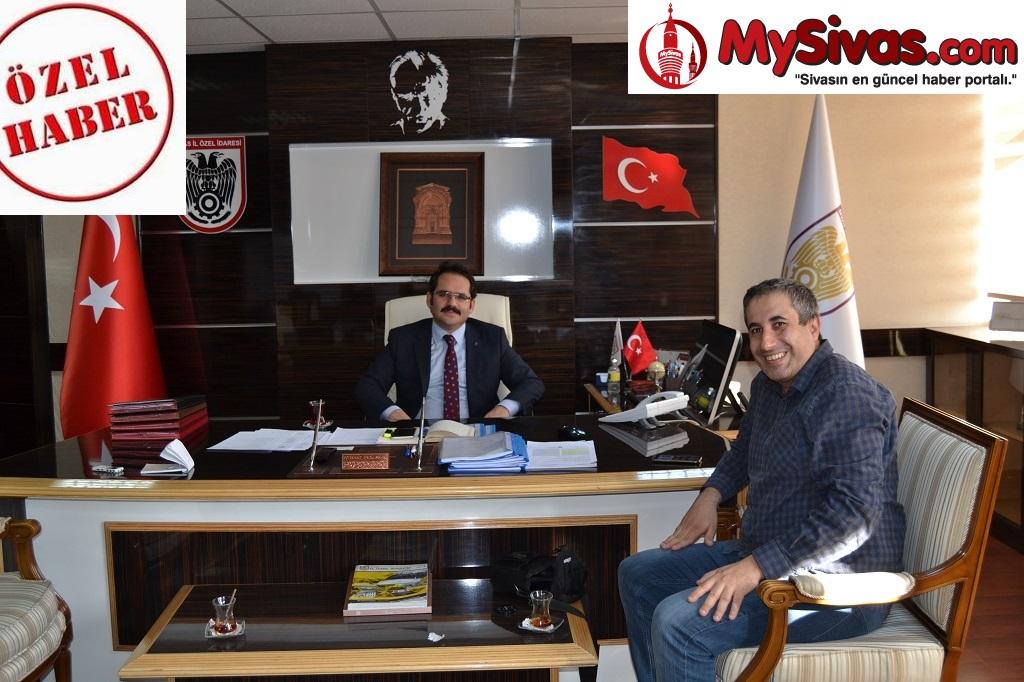 """Genel Sekreter Nebi Kaya """"Sivas'ın Lokomotifi İl Özel İdaredir"""""""