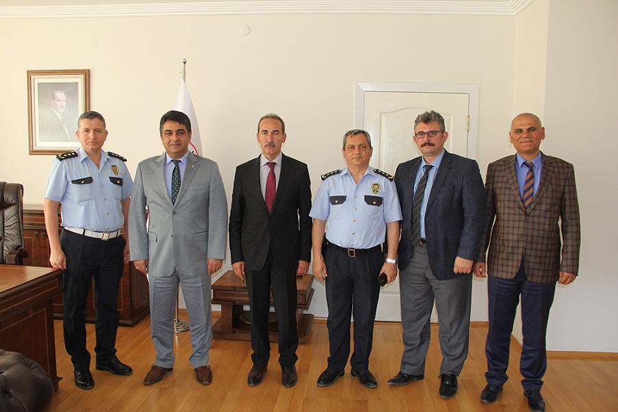 Cumhuriyet Üniverstesi Rektörü Prof. Dr. Alim Yıldız'a Hayırlı Olsun Ziyaretleri Sürüyor
