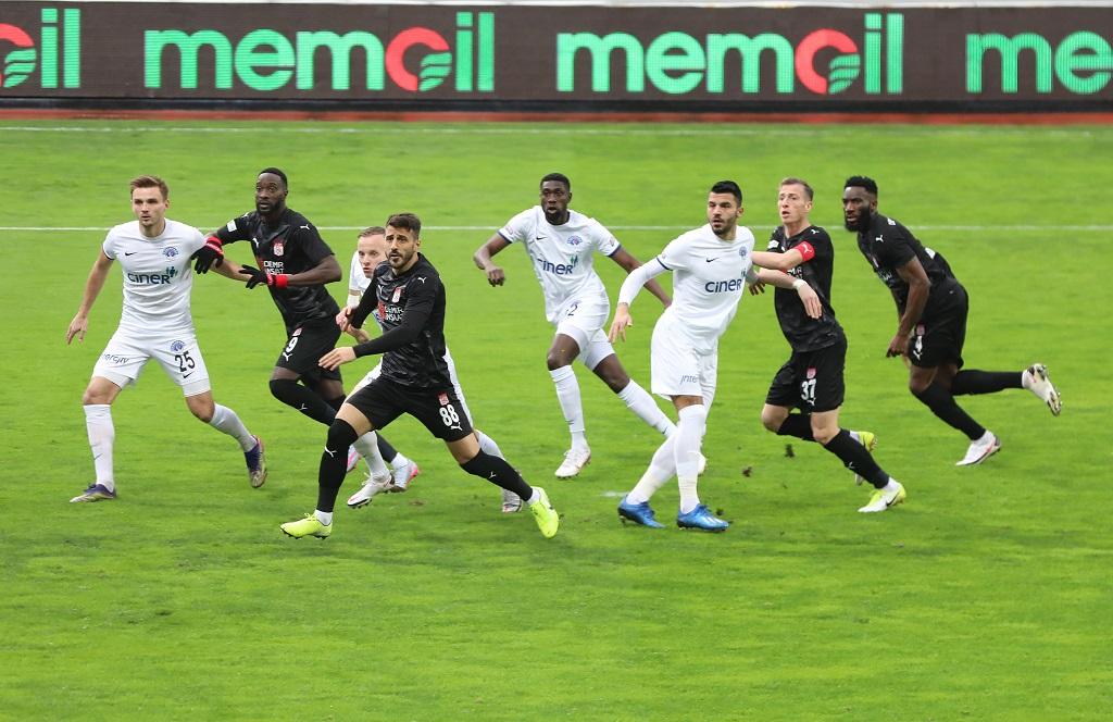 Kasımpaşa 2-0 Demir Grup Sivasspor