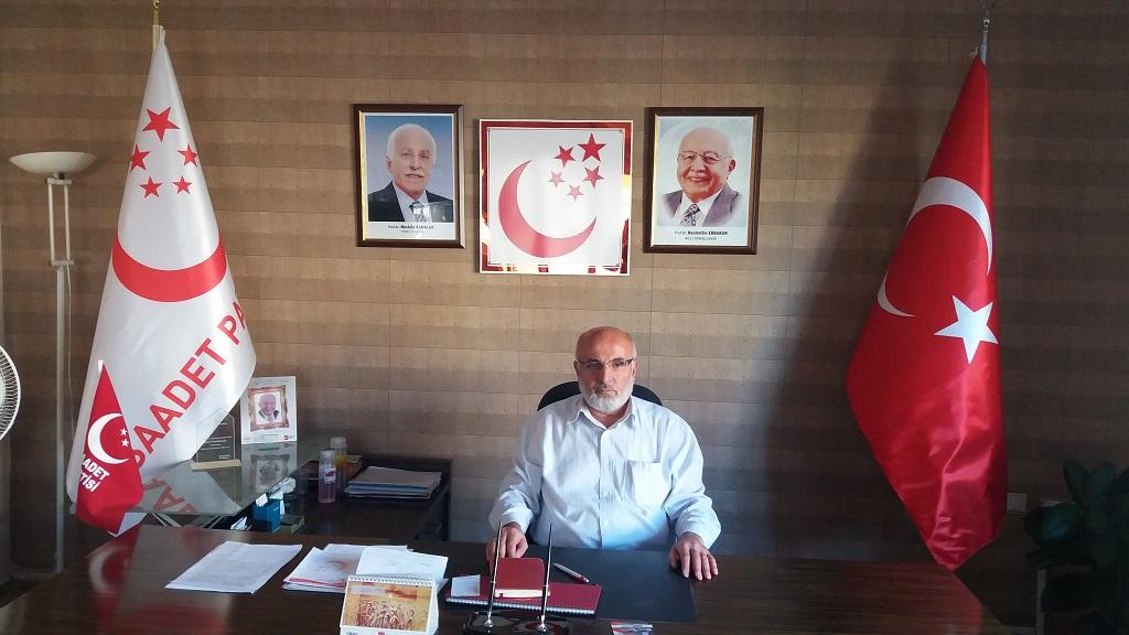 Saadet Partisi İl Başkanı Osman Gönay'ın Kurban Bayramı Mesajı