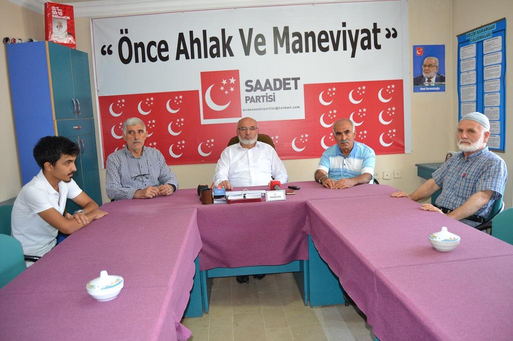 """Osman Gönay """"Bir araya geldiğimiz gün bu zulümlerin son bulduğu gündür"""""""