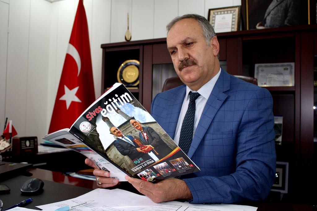 """""""Sivas Eğitim""""in ilk sayısı çıktı"""