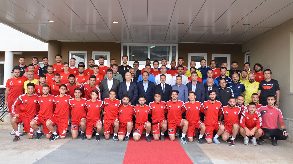 Sivasspor Bayramlaştı
