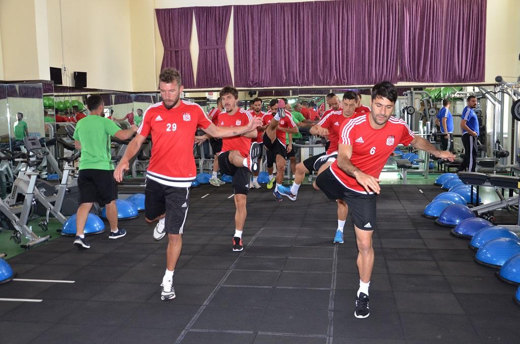 Sivasspor'umuzda Hazırlıklar Sürüyor