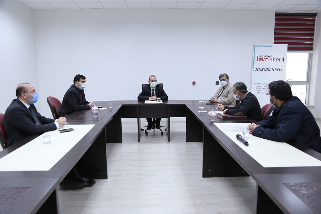Cumhuriyet Teknokent'in Yönetim Kurulu Gerçekleştirildi