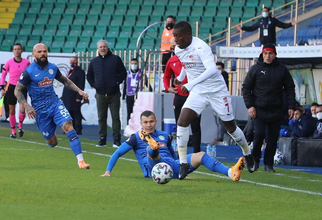 Çaykur Rizespor 0-0 Demir Grup Sivasspor