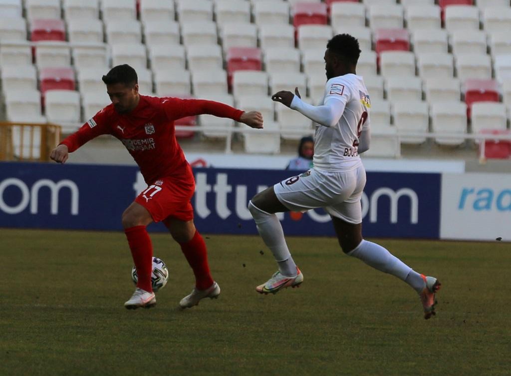 Demir Grup Sivasspor 1-1 Atakaş Hatayspor