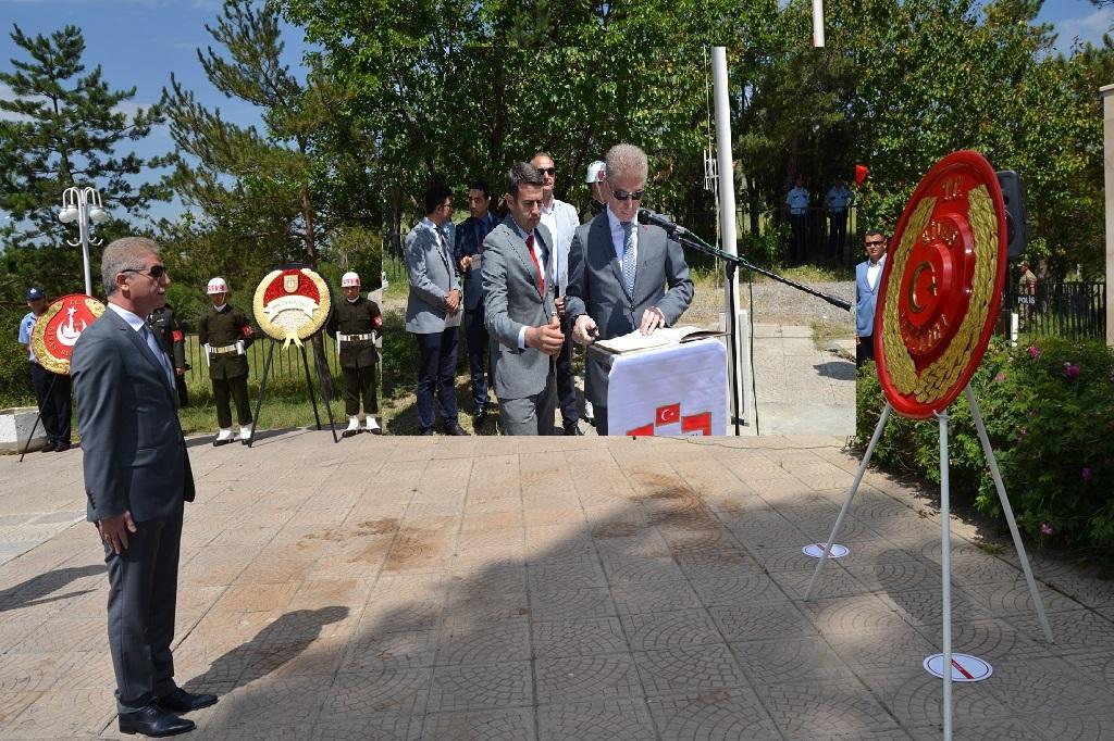ATATÜRK'ÜN SİVAS'A GELİŞİNİN 97'İNCİ YIL DÖNÜMÜ KUTLANDI