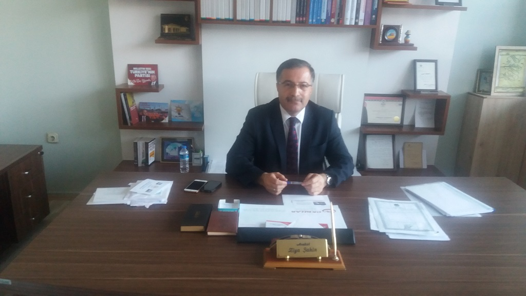 Ak Parti İl Başkanı Avukat Ziya Şahinin Kurban Bayramı Mesajı