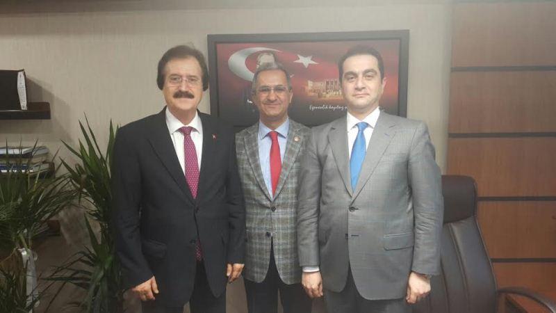 Rektörümüz Prof. Dr. Faruk Kocacık'ın Ankara Ziyaretleri Devam Ediyor