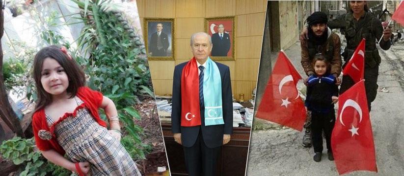 Türkmen Balası Elif Türkmen beyi Bahçeli sayesinde Türkiye'de