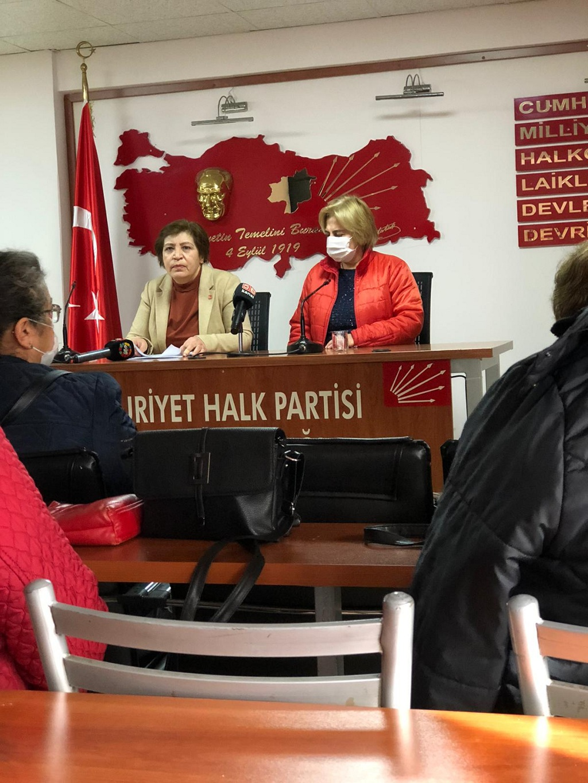 """CHP Kadın Kollarından Hükümetin """"2020 Cinsiyet Eşitliği"""" Karnesi"""