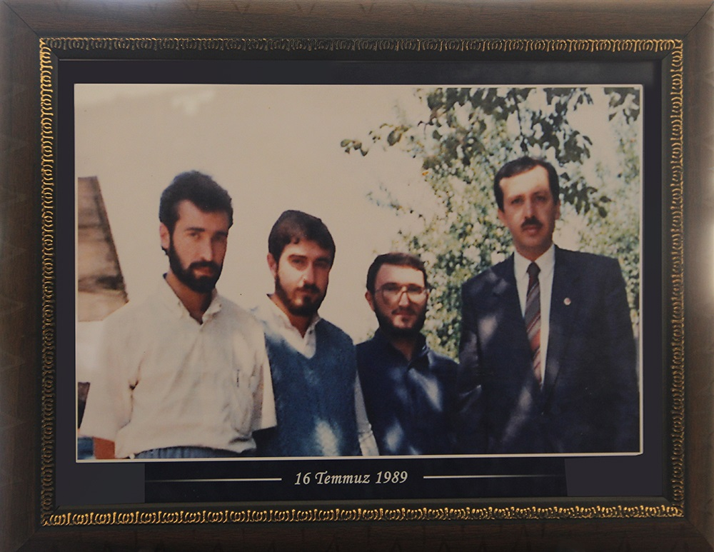 Cumhurbaşkanımız Erdoğan'a Fotoğrafı Hediye Edildi