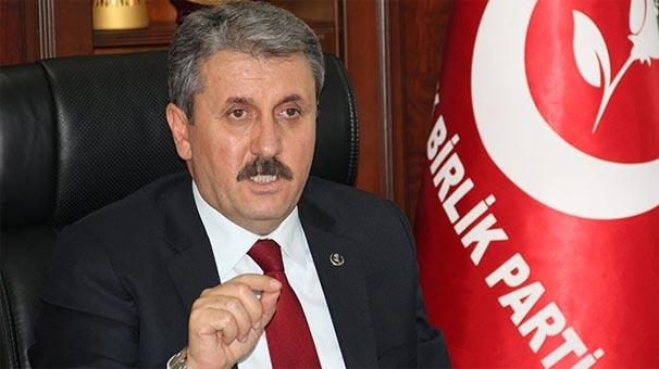 BBP Genel Başkanı Destici: Bu hainlerin idam edilmesi şart