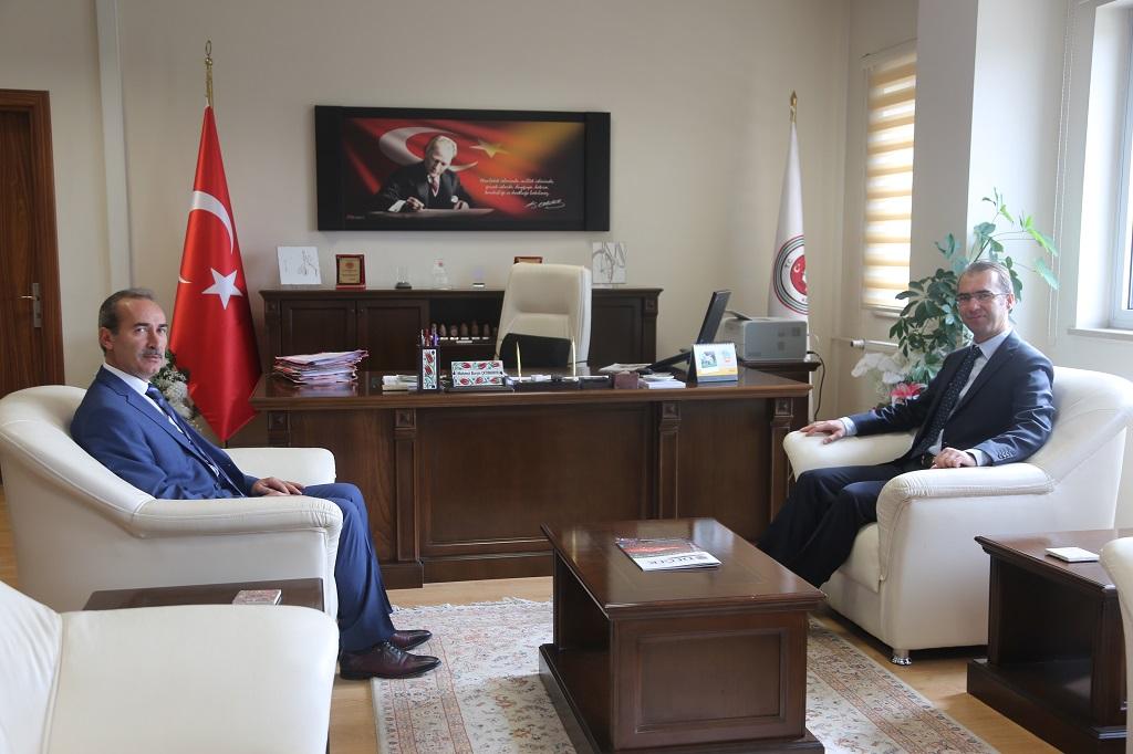 Adli Yargı ve Adalet Komisyonu Başkanı Çetinkaya'yı Ziyaret