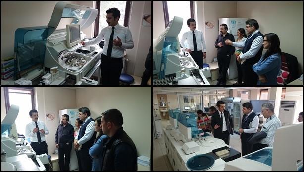 Sivas Numune Hastanesi İstasyon Semt Polikliniğine İnceleme Ziyareti Gerçekleştirildi