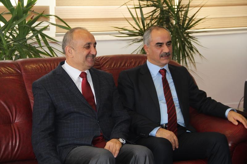 Belediye Başkanı Sami Aydın'dan Prof. Dr. Metin Bozkuş a ziyaret