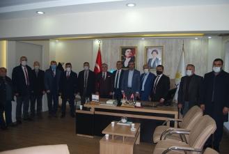 Başkan Adayı Mesut Dursun'dan İYİ Parti-Saadet Partisi ve Yeniden Refah Partisi'ne ziyaret