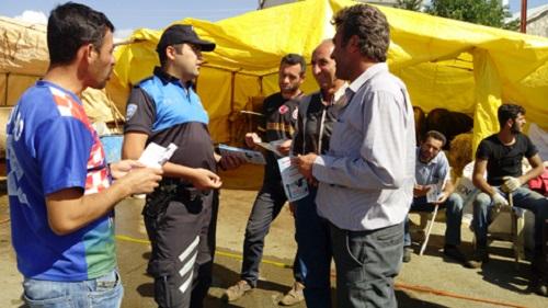 Kurban Bayramı için Sivas Emniyet Müdürlüğü atağa geçti