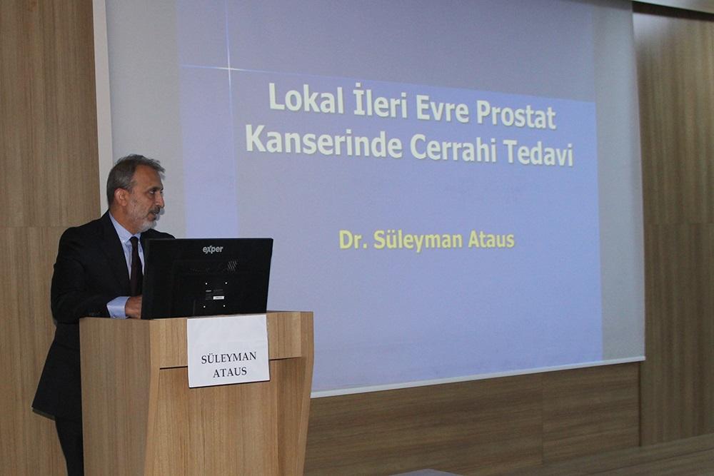 Cumhuriyet Üniversitesinde, Prostat Kanserine Multidisiplinler Yaklaşım toplantısı düzenlendi