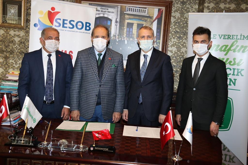 Sesob İle Şekerbank arasında Protokol imzalandı