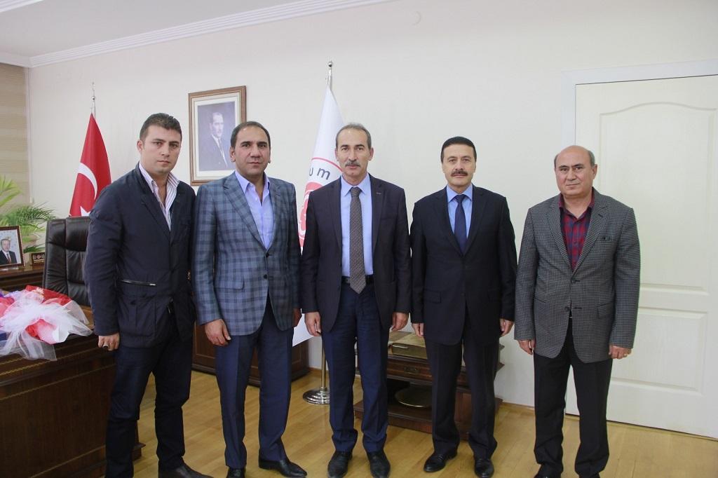 Sivasspor Yönetimi'nden Alim Yıldız'a Ziyaret