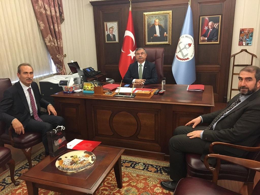 Rektör Yıldız Ankara'da Bir Dizi Ziyaretlerde Bulundu